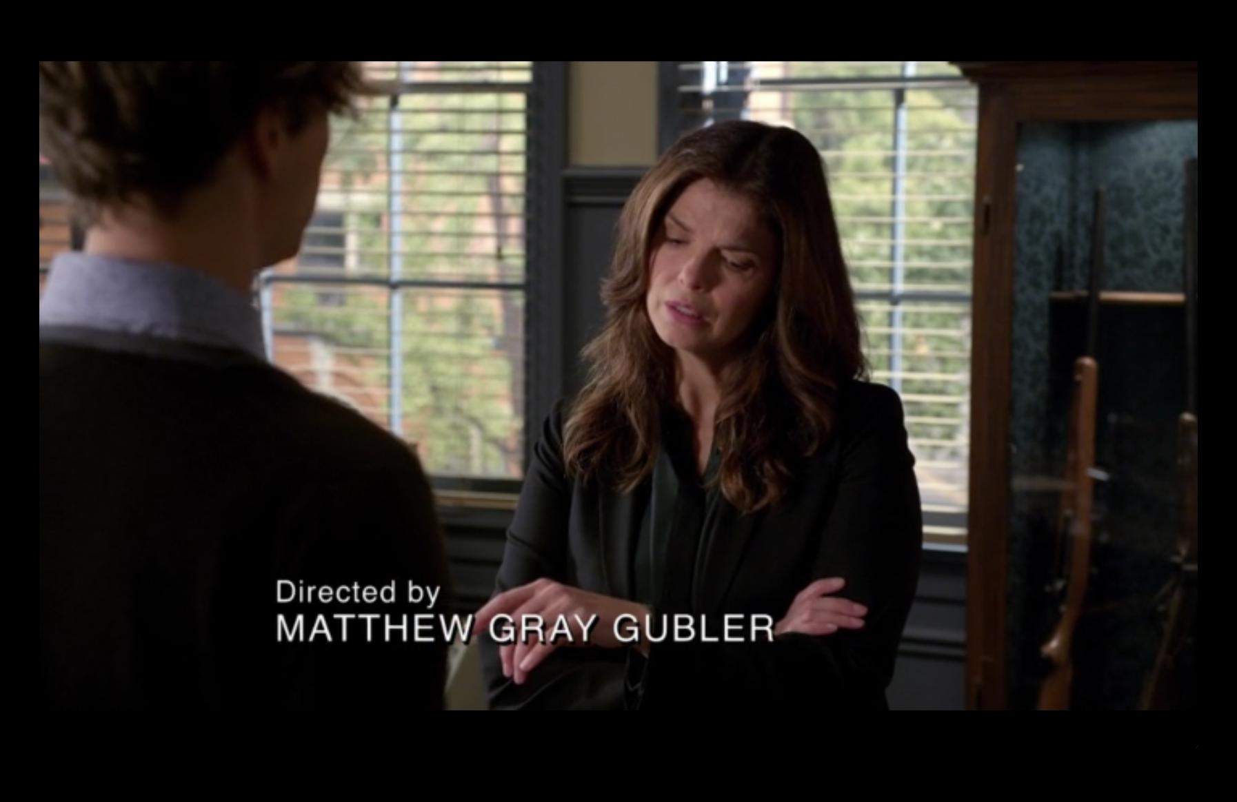 Actor/Director: Matthew Gray Gubler – Criminal Minds – Previously on…